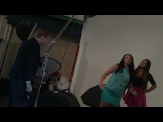 Shooting for Greeva. Backstage.