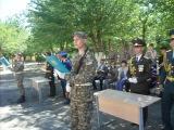 Принятие Военной присяги РК