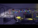(Анимация) Новогодний котенок