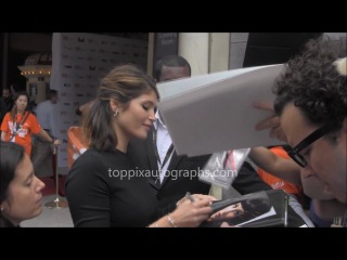 Gemma Arterton - Signing Autographs at the 2014 Toronto International Film Festival