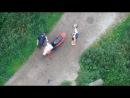 2 пьяных мастера пытаются уехать на скутере Витя АК - отвези меня домой, я бухой